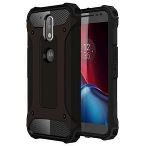 For Motorola Moto G (4rd gen) & G (4rd gen) Plus Tough Armor TPU + PC Combination Case(Black)