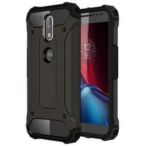 For Motorola Moto G (4rd gen) & G (4rd gen) Plus Tough Armor TPU + PC Combination Case(Coppery)