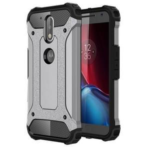 For Motorola Moto G (4rd gen) & G (4rd gen) Plus Tough Armor TPU + PC Combination Case(Grey)
