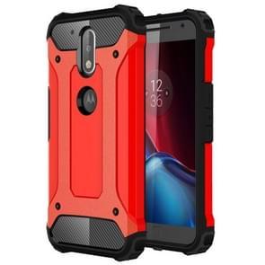 For Motorola Moto G (4rd gen) & G (4rd gen) Plus Tough Armor TPU + PC Combination Case(Red)