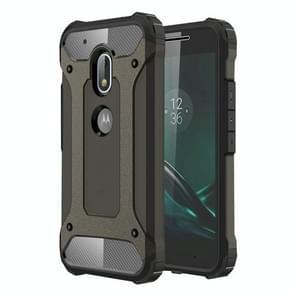 For Motorola Moto G4 Play Tough Armor TPU + PC Combination Case(Coppery)