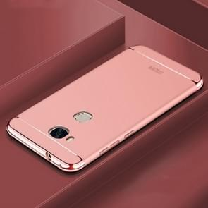 MOFi For Huawei Honor 5X Three - paragraph Shield Full Coverage Protective Case Back Cover (Rose Gold)