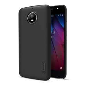 NILLKIN Frosted Shield for Motorola Moto G5S Concave-convex Texture PC Protective Case Back Cover(Black)