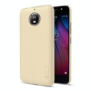 NILLKIN Frosted Shield for Motorola Moto G5S Concave-convex Texture PC Protective Case Back Cover (Gold)