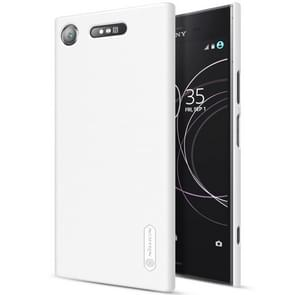 NILLKIN for Sony Xperia XZ1 Concave-convex Texture PC Protective Back Cover Case(White)