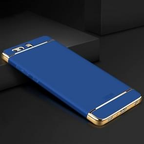 MOFI for Huawei P10 Plus Three-paragraph Shield Full Coverage Protective Back Cover Case(Blue)