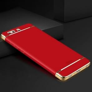 MOFI for Huawei P10 Plus Three-paragraph Shield Full Coverage Protective Back Cover Case(Red)