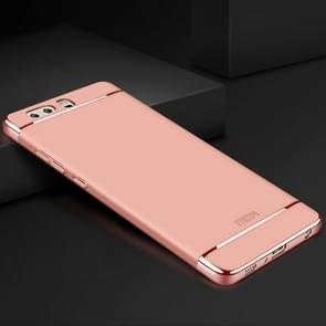 MOFI for Huawei P10 Plus Three-paragraph Shield Full Coverage Protective Back Cover Case(Rose Gold)