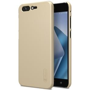 NILLKIN for Asus ZenFone 4 Pro ZS551KL Concave-convex Texture PC Protective Back Cover Case (Gold)