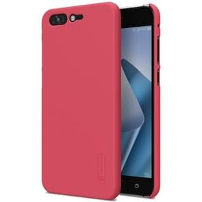 NILLKIN for Asus ZenFone 4 Pro ZS551KL Concave-convex Texture PC Protective Back Cover Case (Red)