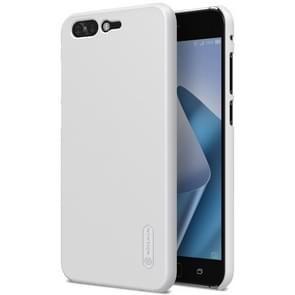 NILLKIN for Asus ZenFone 4 Pro ZS551KL Concave-convex Texture PC Protective Back Cover Case (White)