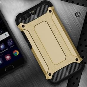 Huawei P10  Tough Armor TPU + PC Combination Case(Gold)