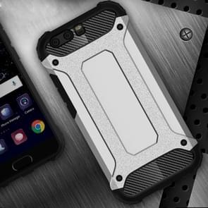 Huawei P10  Tough Armor TPU + PC Combination Case(Silver)