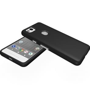 For Google Pixel 2 Anti-slip Armor Protective Case Back Cover Shell (Black)
