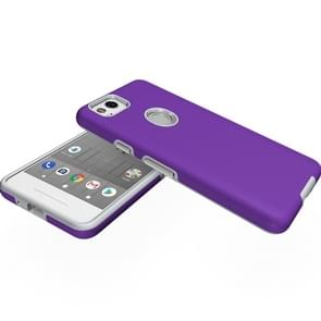 For Google Pixel 2 Anti-slip Armor Protective Case Back Cover Shell (Purple)