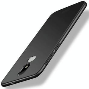 MOFI For Motorola Moto M PC Ultra-thin Edge Fully Wrapped Up Protective Case Back Cover (Black)