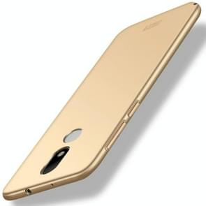 MOFI For Motorola Moto M PC Ultra-thin Edge Fully Wrapped Up Protective Case Back Cover (Gold)