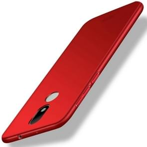 MOFI For Motorola Moto M PC Ultra-thin Edge Fully Wrapped Up Protective Case Back Cover (Red)