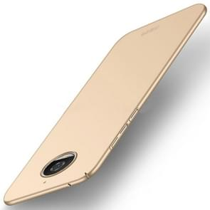 MOFI For Motorola Moto G5S PC Ultra-thin Edge Fully Wrapped Up Protective Case Back Cover (Gold)