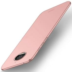 MOFI For Motorola Moto G5S PC Ultra-thin Edge Fully Wrapped Up Protective Case Back Cover (Rose Gold)