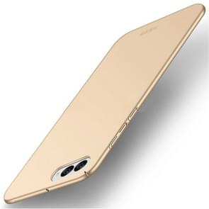 MOFI Asus ZenFone 4 / ZE554KL / Z01KD Frosted PC Ultra-thin Edge Fully Wrapped Up Protective Case Back Cover(Gold)