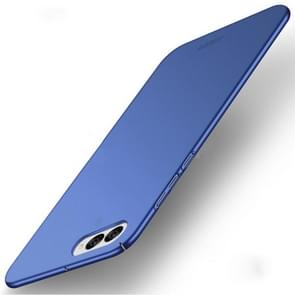 MOFI Asus ZenFone 4 / ZE554KL / Z01KD Frosted PC Ultra-thin Edge Fully Wrapped Up Protective Case Back Cover(Blue)