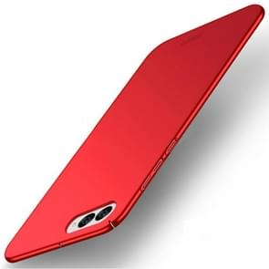 MOFI Asus ZenFone 4 / ZE554KL / Z01KD Frosted PC Ultra-thin Edge Fully Wrapped Up Protective Case Back Cover(Red)