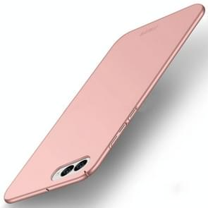 MOFI Asus ZenFone 4 / ZE554KL / Z01KD Frosted PC Ultra-thin Edge Fully Wrapped Up Protective Case Back Cover(Rose Gold)