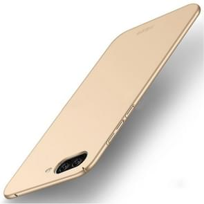 MOFI Asus ZenFone 4 Max / ZC520KL Frosted PC Ultra-thin Edge Fully Wrapped Up Protective Case Back Cover (Gold)