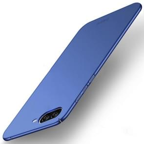 MOFI Asus ZenFone 4 Max / ZC520KL Frosted PC Ultra-thin Edge Fully Wrapped Up Protective Case Back Cover (Blue)