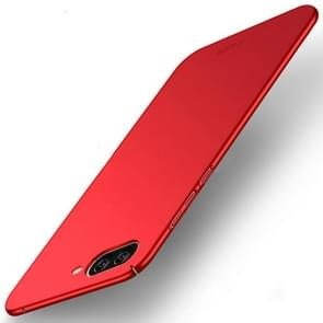 MOFI Asus ZenFone 4 Max / ZC520KL Frosted PC Ultra-thin Edge Fully Wrapped Up Protective Case Back Cover (Red)