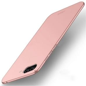 MOFI Asus ZenFone 4 Max / ZC520KL Frosted PC Ultra-thin Edge Fully Wrapped Up Protective Case Back Cover (Rose Gold)