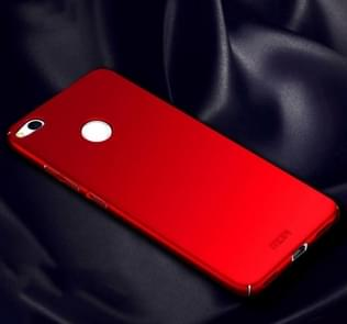 MOFI for Huawei P8 Lite (2017) PC Ultra-thin Edge Fully Wrapped Up Protective Case Back Cover(Red)
