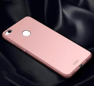 MOFI for Huawei P8 Lite (2017) PC Ultra-thin Edge Fully Wrapped Up Protective Case Back Cover(Rose Gold)