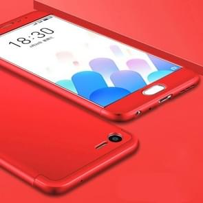 GKK Meizu Meilan E2 PC Three - paragraph Shield 360 Degrees Full Coverage Protective Case Back Cover(Red)