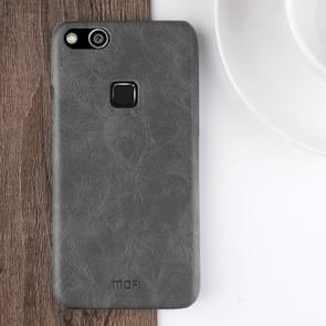 MOFI Huawei nova Lite Crazy Horse Texture Leather Surface PC Protective Back Cover Case (Black)