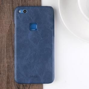 MOFI Huawei nova Lite Crazy Horse Texture Leather Surface PC Protective Back Cover Case (Dark Blue)