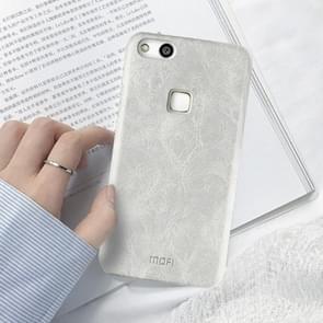 MOFI Huawei nova Lite Crazy Horse Texture Leather Surface PC Protective Back Cover Case (White)
