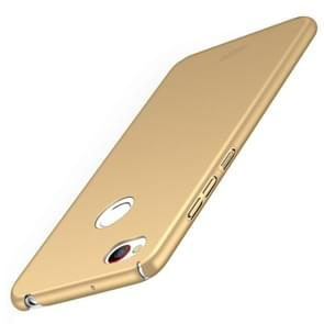 MOFI ZTE Nubia Z11 mini S PC Ultra-thin Edge Fully Wrapped Up Protective Case Back Cover(Gold)