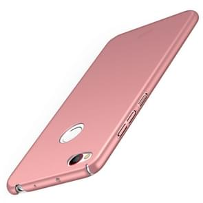 MOFI ZTE Nubia Z11 PC Ultra-thin Edge Fully Wrapped Up Protective Case Back Cover(Rose Gold)