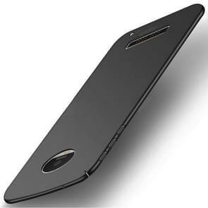 MOFI for Motorola Moto Z Play PC Ultra-thin Edge Fully Wrapped Up Protective Back Cover Case (Black)