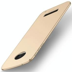 MOFI for Motorola Moto Z Play PC Ultra-thin Edge Fully Wrapped Up Protective Back Cover Case (Gold)