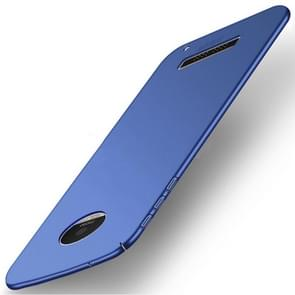 MOFI for Motorola Moto Z Play PC Ultra-thin Edge Fully Wrapped Up Protective Back Cover Case (Blue)