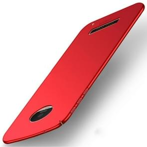 MOFI for Motorola Moto Z Play PC Ultra-thin Edge Fully Wrapped Up Protective Back Cover Case (Red)