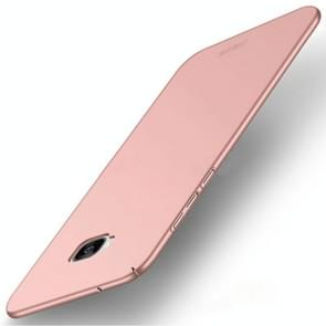 MOFI for Asus ZenFone 4 Selfie ZD553KL PC Ultra-thin Edge Fully Wrapped up Protective Back Cover Case (Rose Gold)
