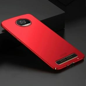 MOFI for Motorola Moto Z2 Play / XT 1710-08 Frosted PC Ultra-thin Edge Fully Wrapped Up Protective Case Back Cover(Red)