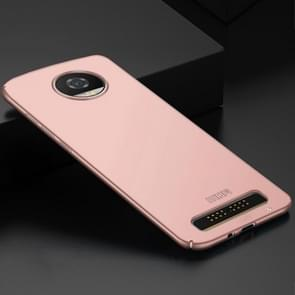 MOFI for Motorola Moto Z2 Play / XT 1710-08 Frosted PC Ultra-thin Edge Fully Wrapped Up Protective Case Back Cover(Rose Gold)