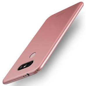 MOFI For LG G5 PC Ultra-thin Edge Fully Wrapped Up Protective Case Back Cover (Rose Gold)