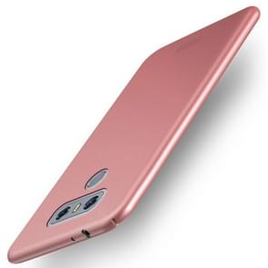 MOFI For LG G6 PC Ultra-thin Edge Fully Wrapped Up Protective Case Back Cover(Rose Gold)