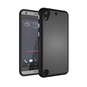 For HTC Desire 530 Ball Texture Anti-slip PC + TPU Protective Back Cover Case(Black)